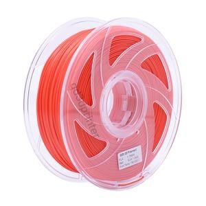 QIDI TECH High Quality Red Color 3D Printer Filaments Plastic Rubber Consumables Material,1.75mm PLA