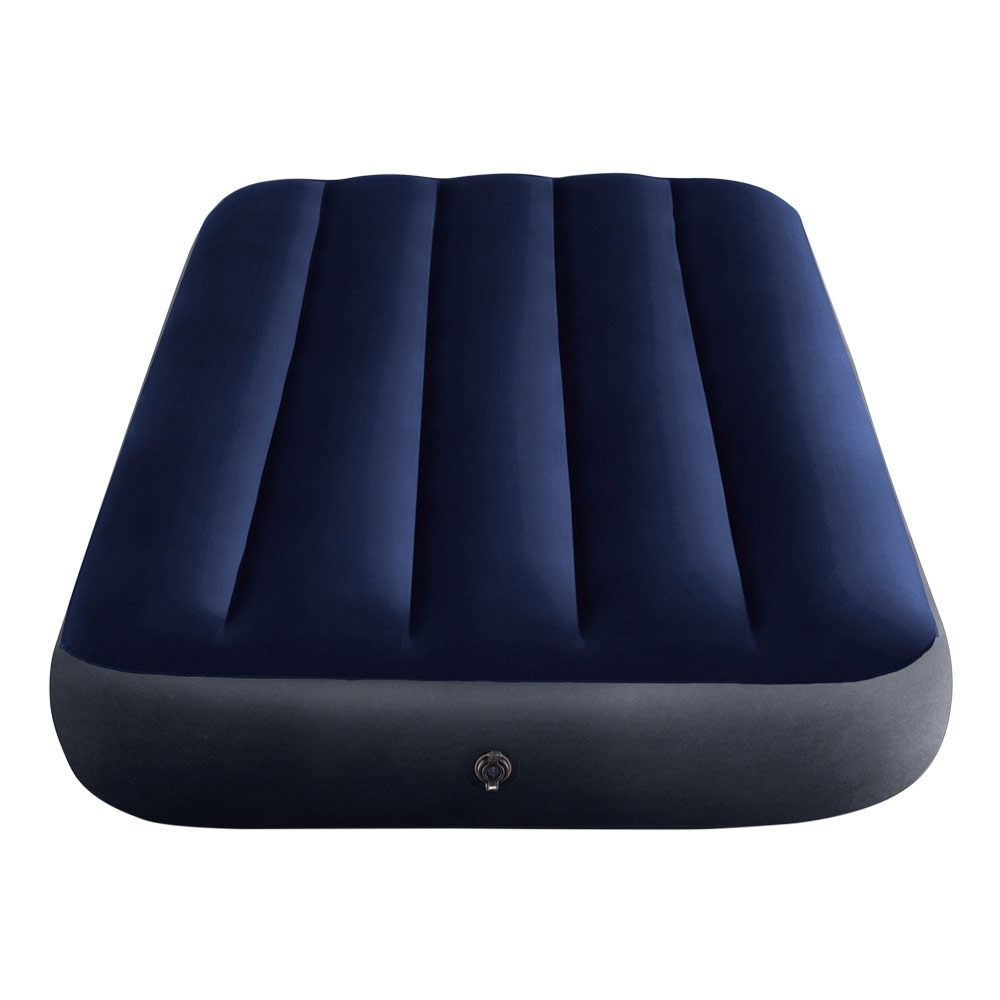 INTEX Inflatable mattress hard-Beam Classic Downy Single air bed inflatable double bed for camping blue Color