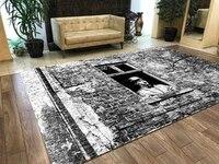 Tapis de sol antiderapant a motifs  tapis de sol turc a motifs de cinema et de charles Chaplin pour adolescents