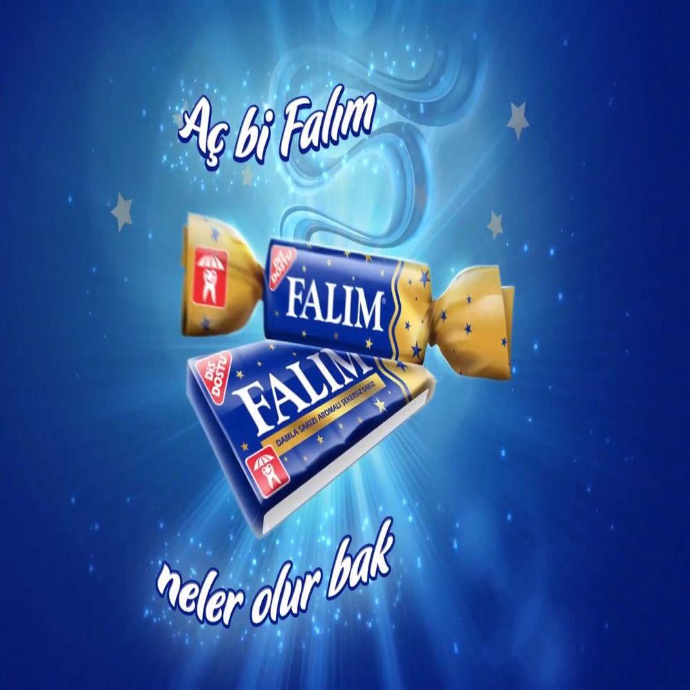 Falim sugarless chewing gum , sugar free (7x5 pack) 35 gums, gift option