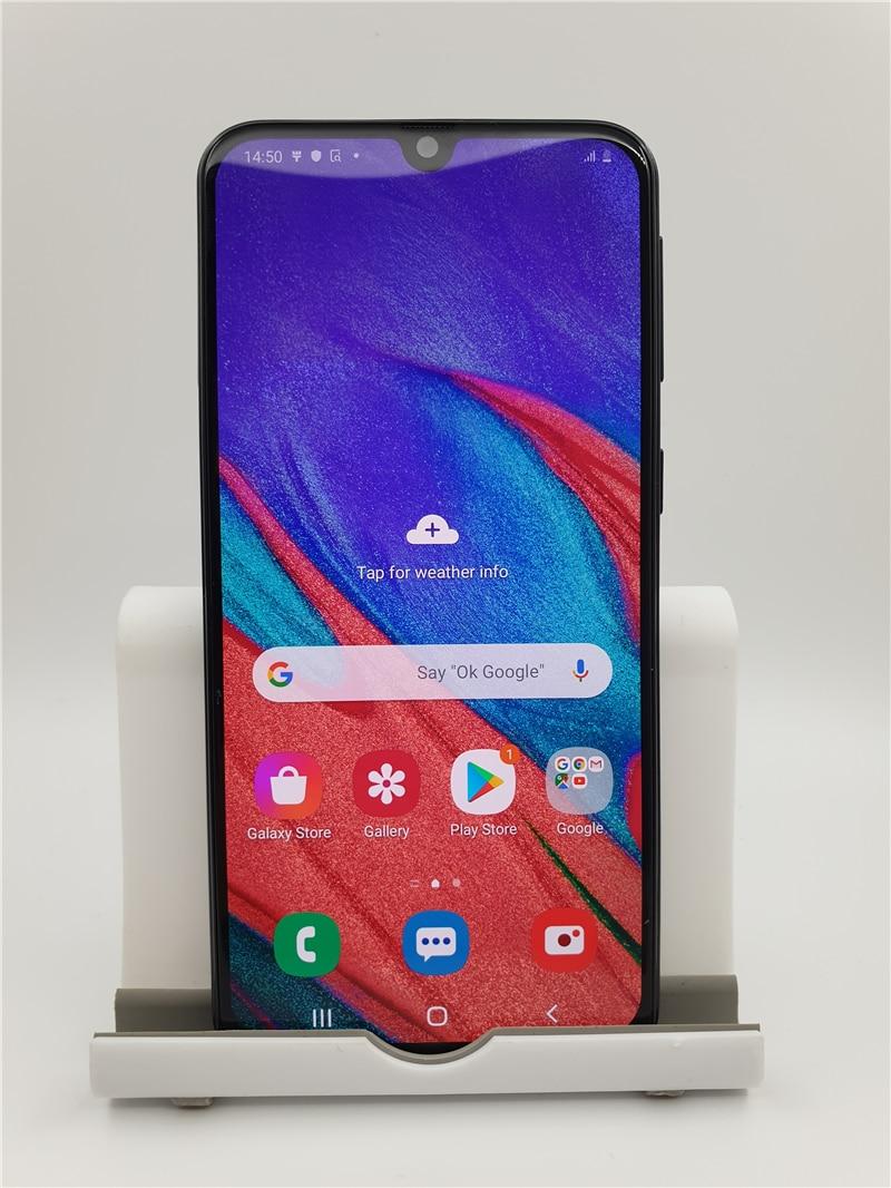 Перейти на Алиэкспресс и купить Samsung Galaxy A40 SM-A405F/DS завод разблокированный сотовый телефон 5,9 дюйм4GB 64GB смартфон восьмиядерных процессор 16 MP Цифровая видеокамера для Android мобильн...