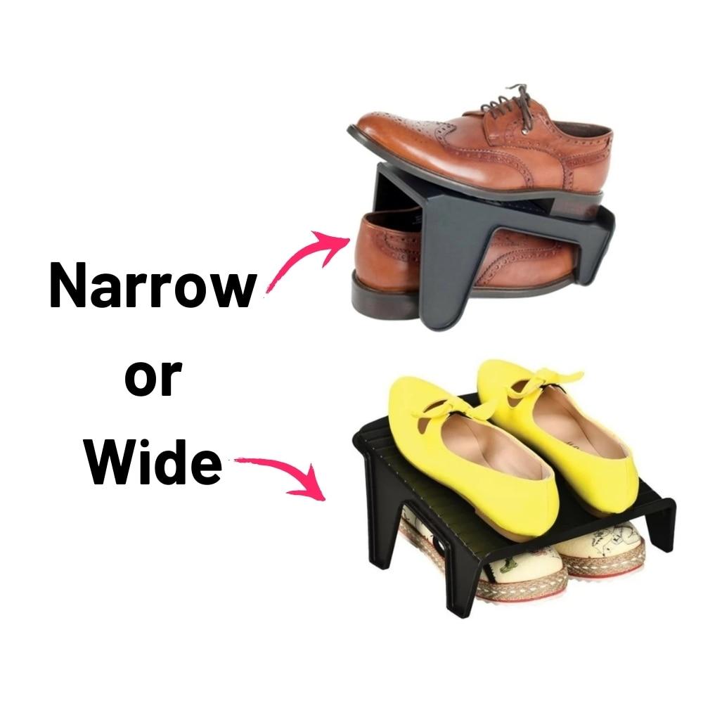 5 قطعة 2 أنواع دائم دولاب أحذية منظم الأحذية رف حامل دعامة حامل منحدر فتحة الفضاء إنقاذ خزانة خزانة خزانة