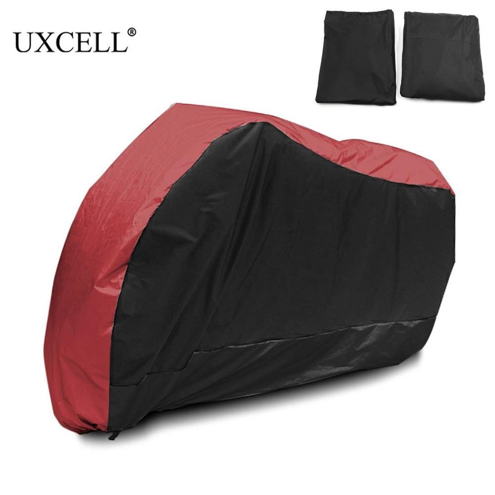 Uxcell чехол для мотоцикла универсальный наружный УФ-протектор для скутера водонепроницаемый велосипедный дождевик пылезащитный чехол для ...