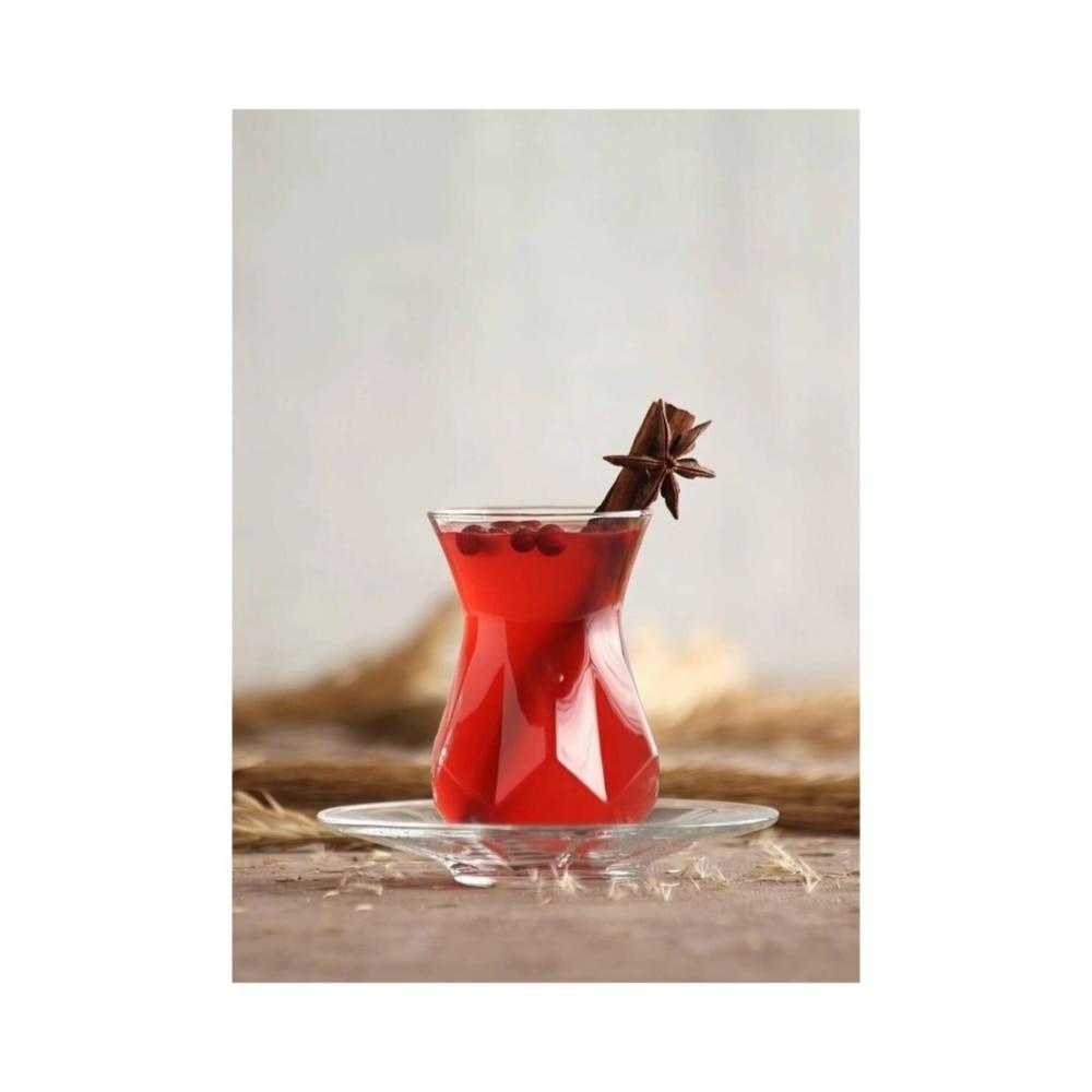 Чайный сервиз Lava Alya из 12 предметов. Чайная чашка. 12lik сервиз чайный из фарфора 12 предметов лаура 84 670