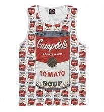 Camiseta de hombre con sopa