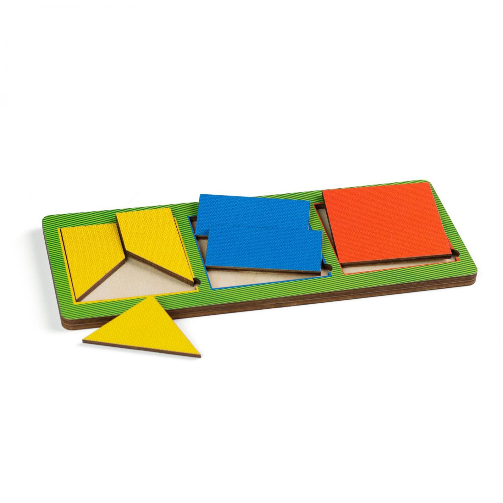 Puzzles PAREMO insère les 3 carrés simples