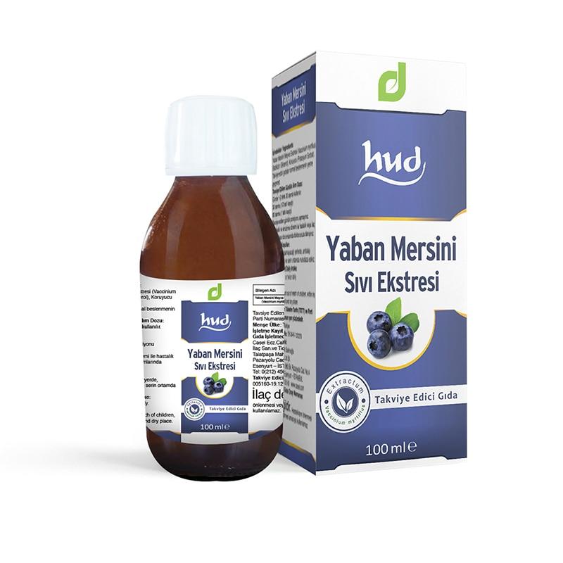 Extracto líquido de arándano Natural (jarabe certificado GMP) 100 ml