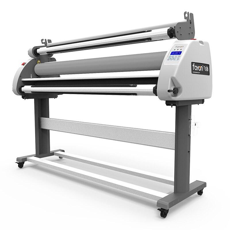 آلة تصفيح أوتوماتيكية كبيرة الحجم ، 1.6 م ، من لفة إلى لفة ، للملصقات على البارد