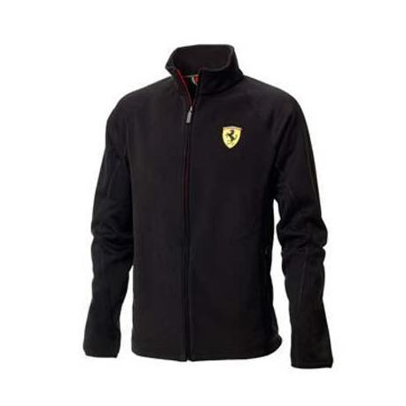Ferrari jacke mann zipper schwarz größe M