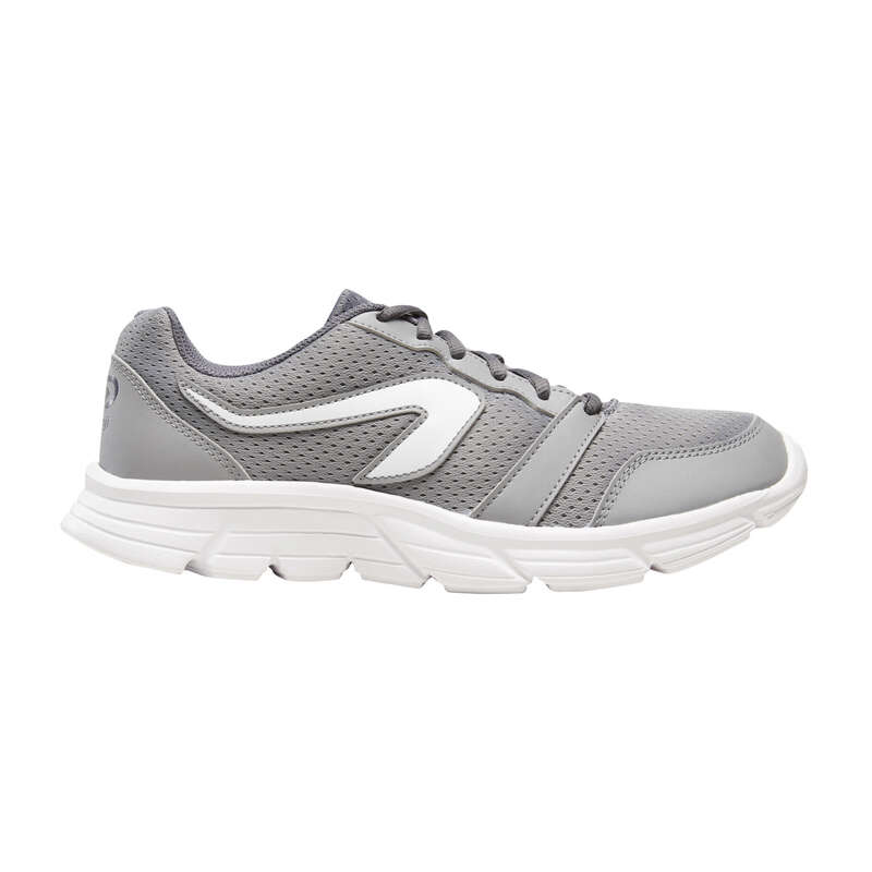 Повседневная обувь для улицы, кроссовки серый спортивная для бега
