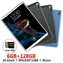 2021 Global Version 3G 4G LTE Tablets 10.1 Inch Android 9.0 Octa Core Google Play 6GB ram+128GB rom