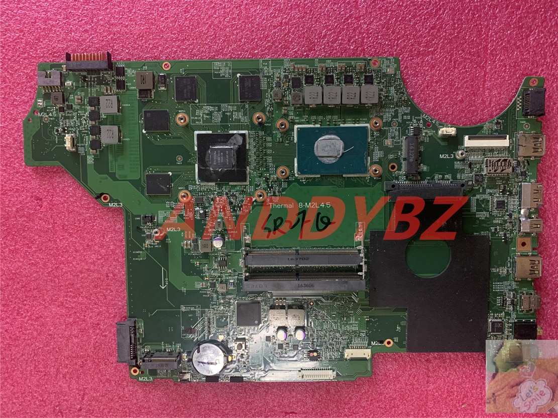 MS-16J51 VER 1.0 LAPTOP motherboard for MSI MS-1795 MS-16J5 GE62 GP62 GE72 GP72 WITH CPU GTX950M DDR4 100% working test