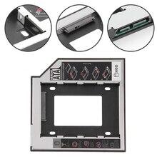 12,7mm 2nd HDD Caddy Aluminium Optibay SATA 3,0 Festplatte Box Gehäuse DVD Adapter 2,5 SSD 2TB für Laptop CD-ROM