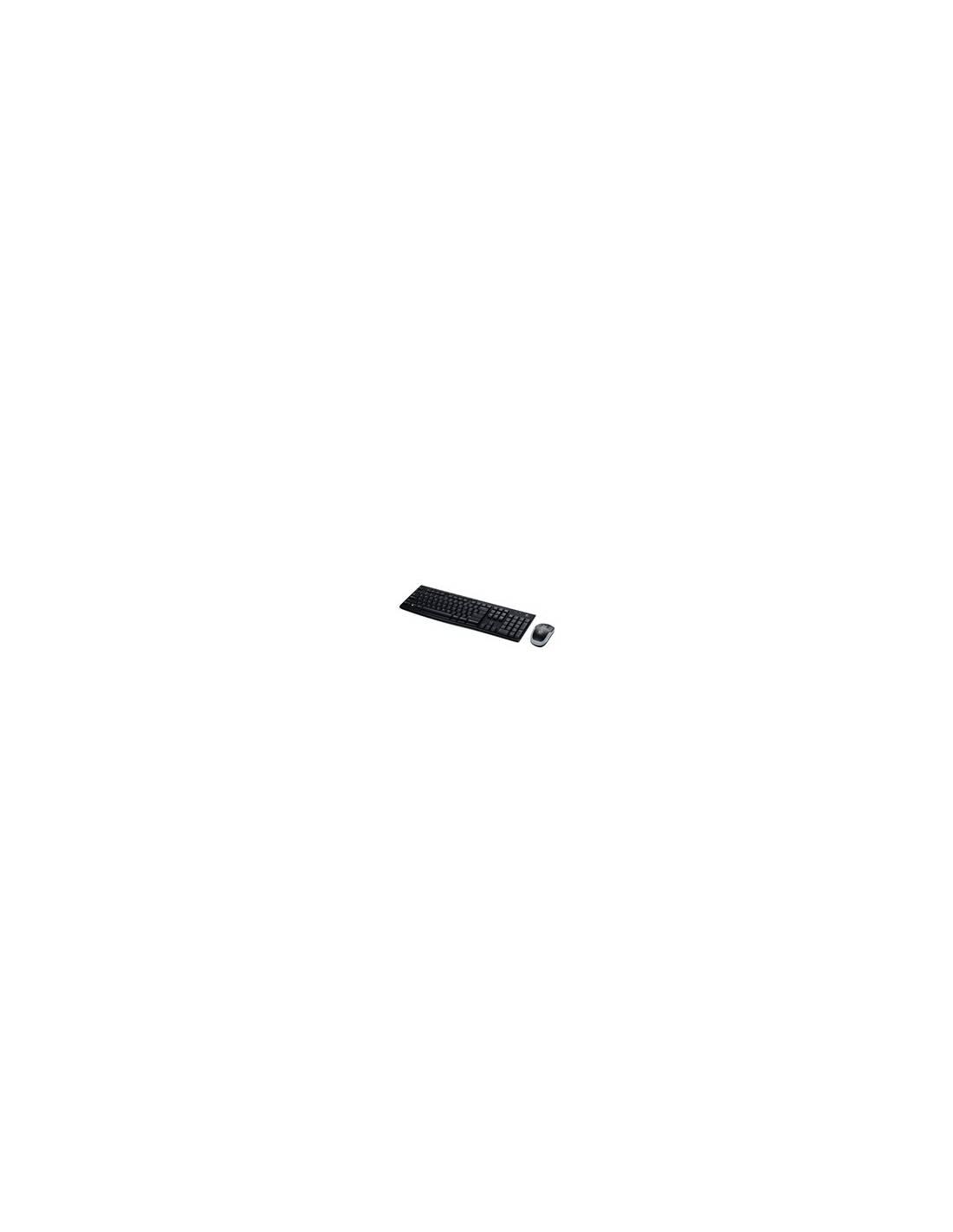 Logitech MK270 Negro Teclado y Ratón Wireless