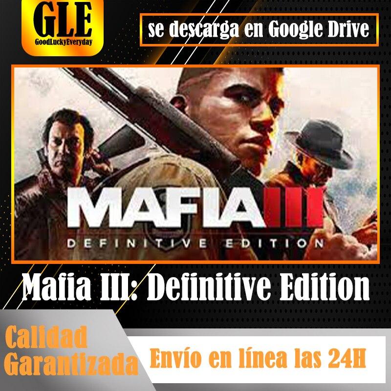 Mafia iii edição definitiva jogos de vídeo aplicativo para jogos originais do computador download do aplicativo google drive descomprimir com winzip winrar