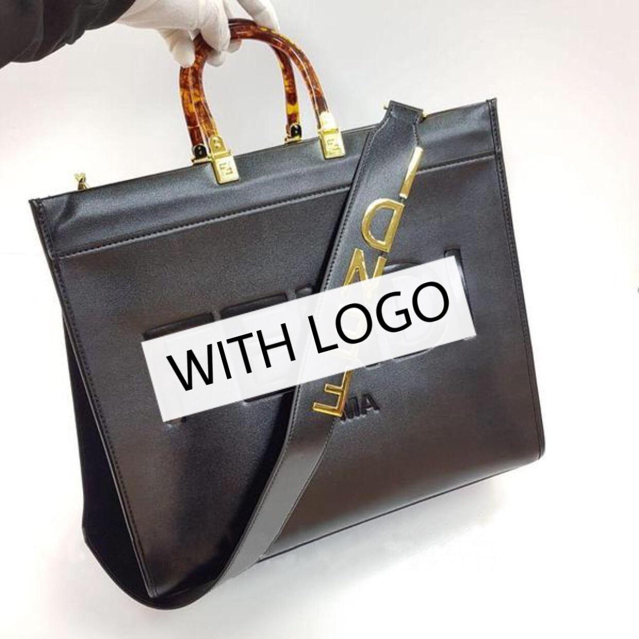 2021 женская кожаная сумка-шоппер, 100% натуральная кожа, оригинал бренд, из натуральной кожи, роскошная брендовая сумка Fen