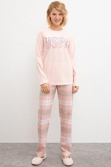 ¡Estados Unidos POLO ASSN! Rosa conjunto de pijama de
