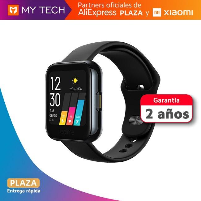 Smartwatch Realme Watch, reloj inteligente original, envío desde España, 2 años de garantía, Aliexpress Plaza, versión global