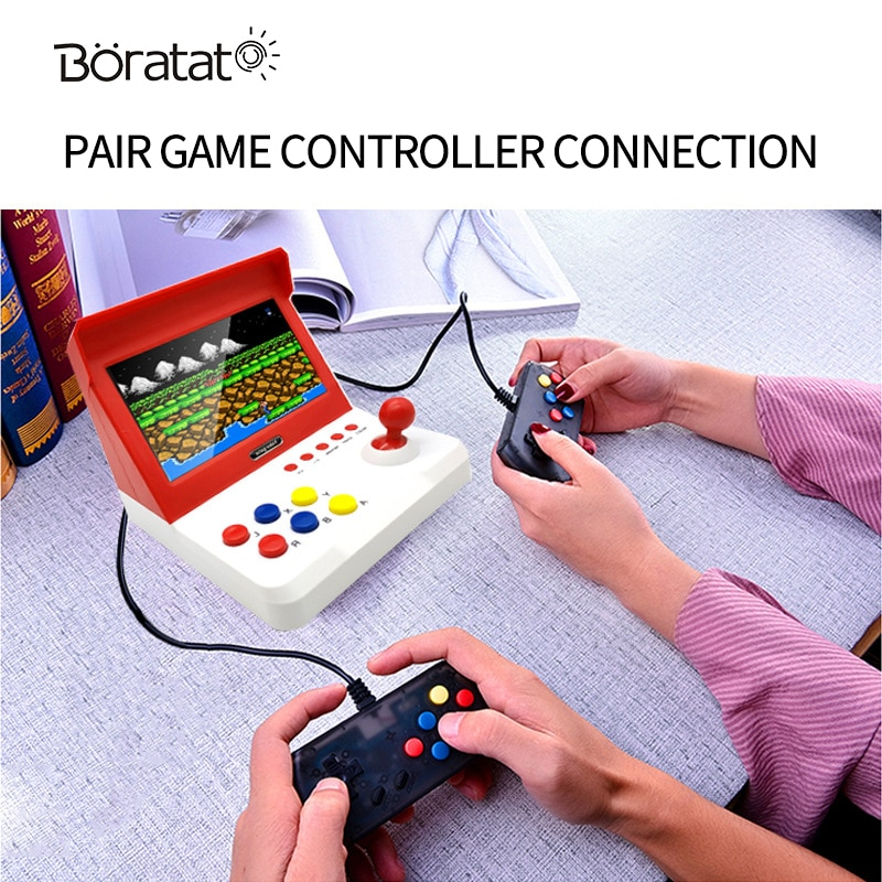 7Inch Mini Game Console Double Nostalgic Arcade Home Joystick Handheld Retro Game Console Video Gaming enlarge