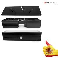 CAJON PORTAMONEDAS VERTICAL Automatic Electric PHOENIX 46X17 TPV Black