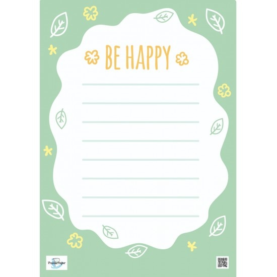 Practicpaper A4 Weekly Planner With And To-do List Printed With Microphone And Patterns To Make Cute Happy Use Souvenir For Kids
