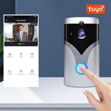 Video Doorbell Low Power Night Vision Monitoring WiFi Remote Intercom Tuya Smart Home Graffiti Wirel
