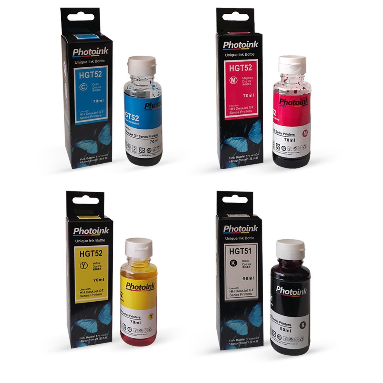 Tinta fotográfica HP Deskjet 9300 4 Color 1