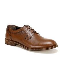 FLO bruine Tan hommes chaussures habillées MERCEDES