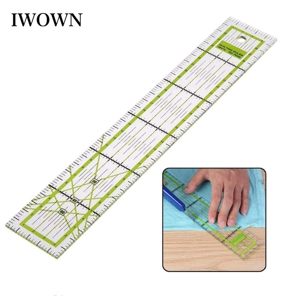 1pc patchwork ruler diy sewing tools accessories ultrathin soft 21cm sewing patchwork rulers quilting tools handmade 5*30cm Clear Sewing Ruler Patchwork Ruler with Grid Lines Tailor Yardstick Quilting Cutting Rulers DIY Sewing Accessories Tools