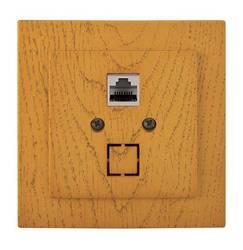 Computador soquete 1st c/p carvalho touran eko naturel (thema) nilson (rj45 cat 5) (1/10/100) 24251044