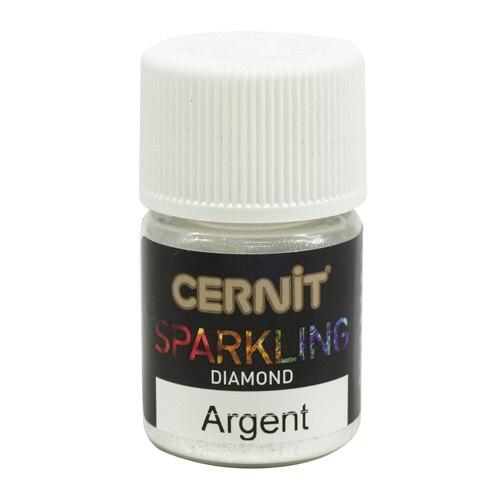 Ce6120005 Mika powder (MICA) diamond/Diamond Sparkling powder 5gr. Cernit (080 Argent/Silver)