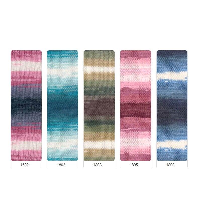 Alize Burcum Batik hilo Punch % 100 acrílico 100g 210m suéter, Beanie, bufanda, alfombra, envoltura, chal, hombres mujeres Knittig regalo, Crochet