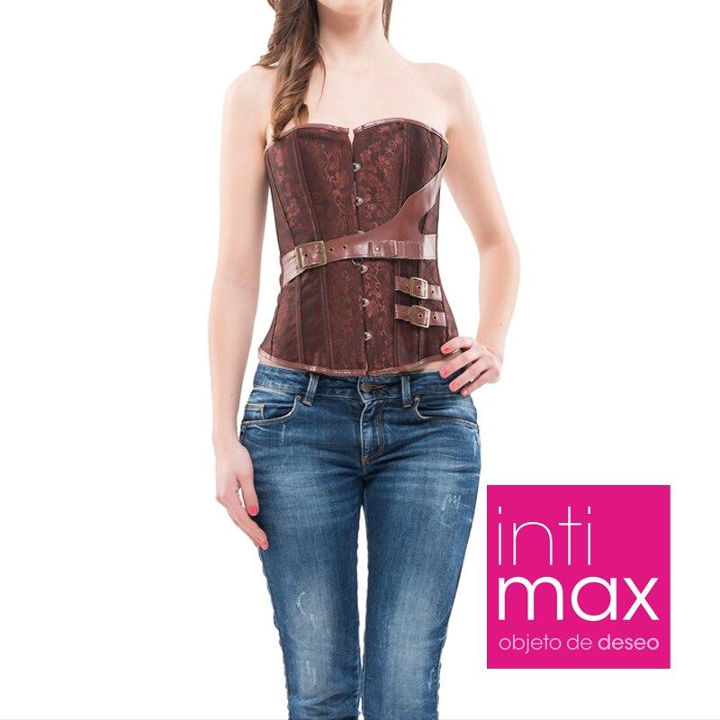 INTIMAX ABBIGAYLE corset Oara woman in brown color