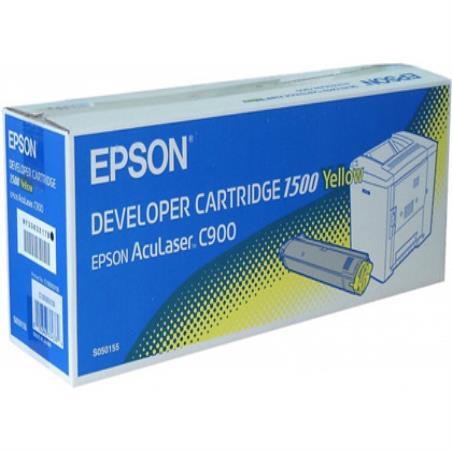 Тонер epson aculaser c900 желтый-1,500 pag- 38524-S050155