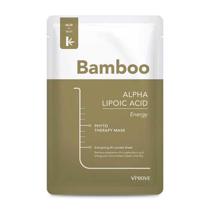 Máscara de tejido vproof phyto therapy Mask sheet ácido alfa lipoico Energy