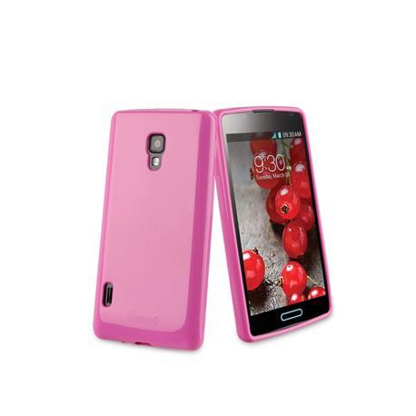 Muvit MUSKI0209 - Funda minigel para LG Optimus L7 II P710, rosa