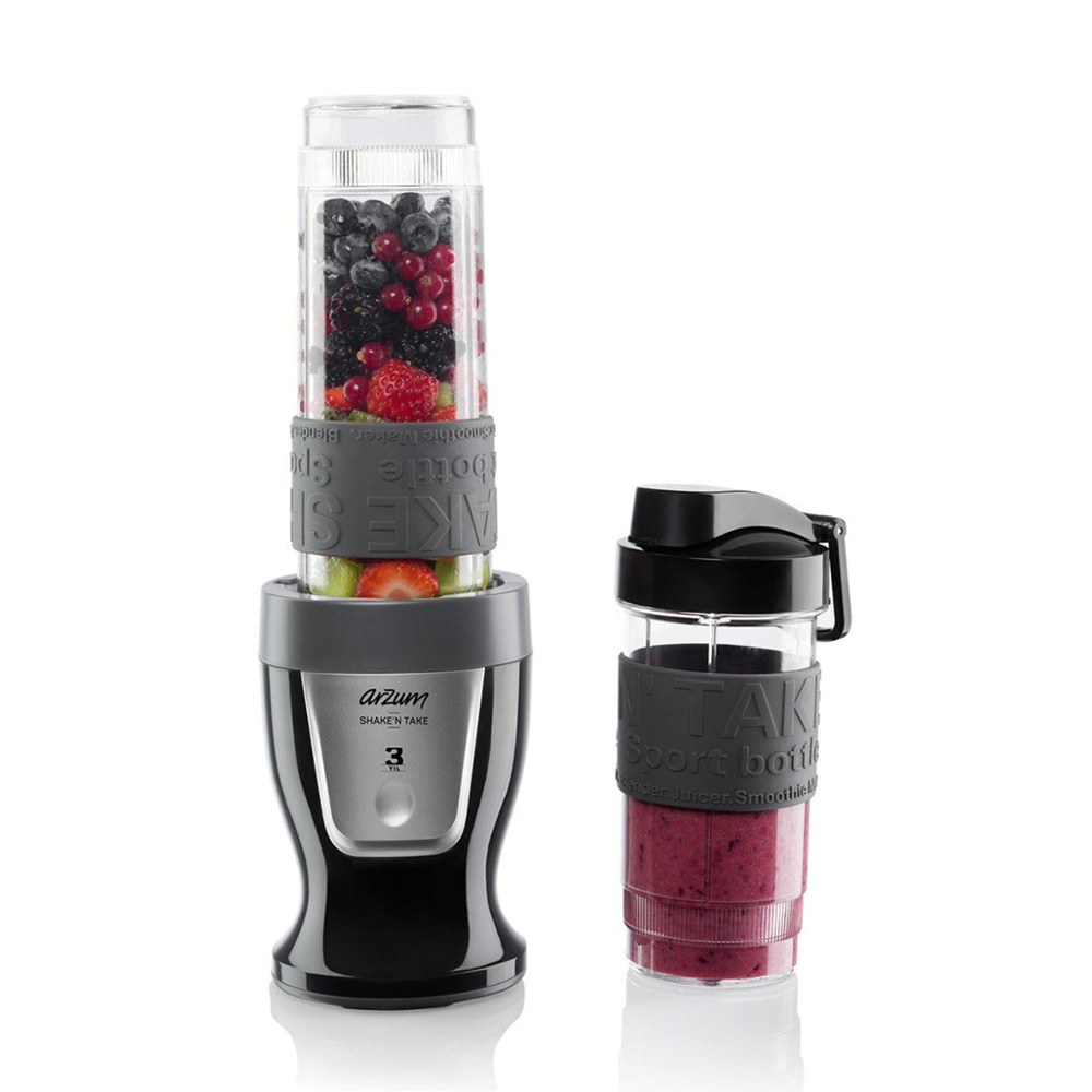 Portable blender mini food processor iced smoothie electric juicer with 2 cups Arzum AR1032