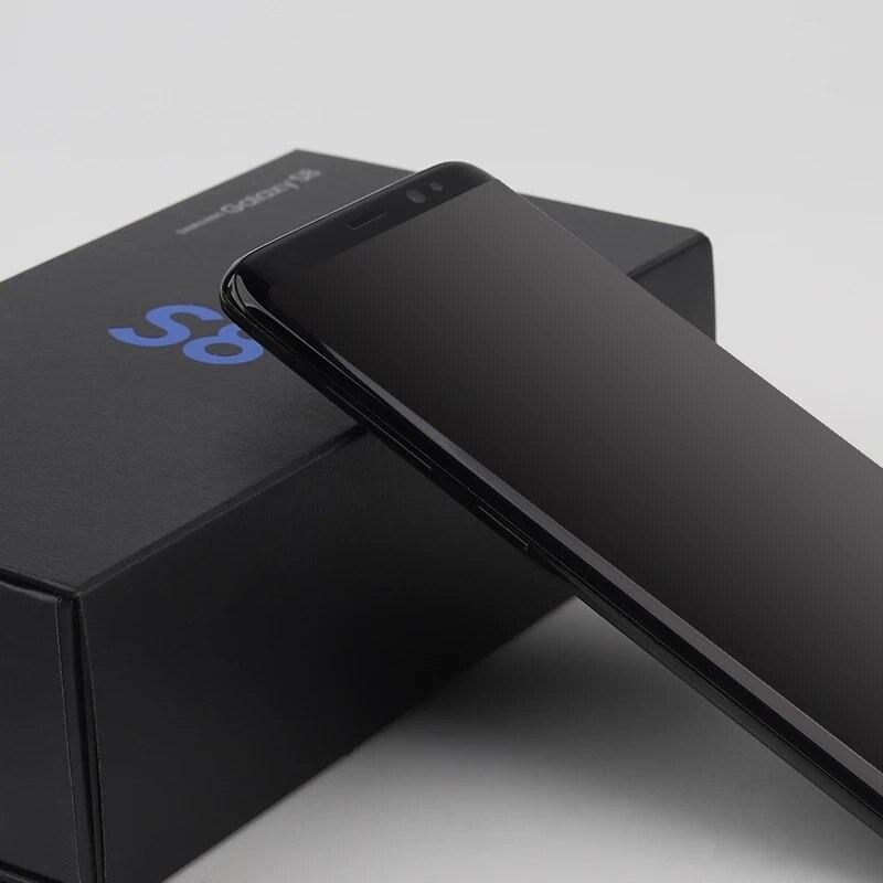 Samsung Galaxy S8 G950F/DS завод разблокированный сотовый телефон 5,8 дюйм 4GB 64GB смартфон Восьмиядерный 12 Мп Android Dual SIM мобильный телефон