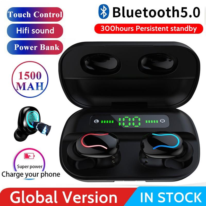 HBQ Q32 TWS Headset Écouteur Bluetooth 5,0 Kopfhörer Cordless kopfhörer Wahre Drahtlose Kopfhörer Mini Bluetooth kopfhörer PK i10