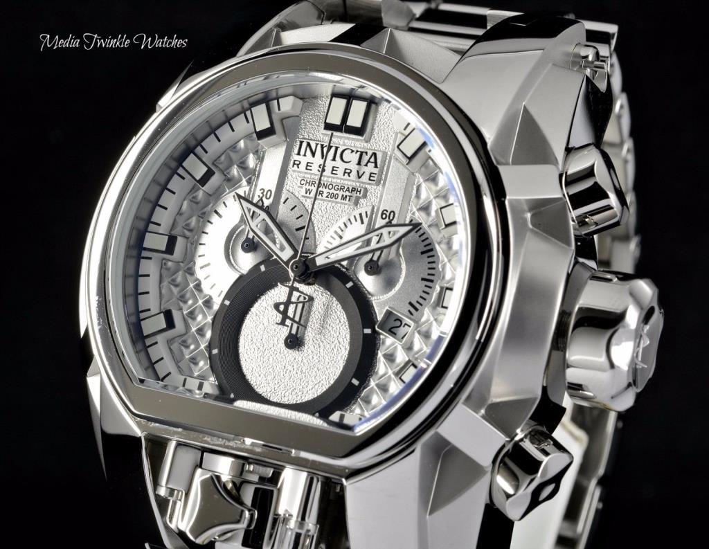 Reloj de pulsera para hombre Invicta 25208 Zeus MAGNUM 52mm