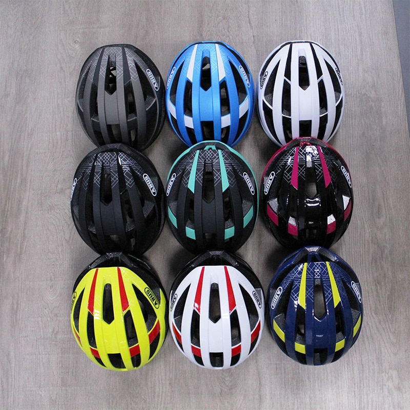 ABUS-Casco de seguridad para bicicleta de carretera, protector ligero y transpirable, moldeado...