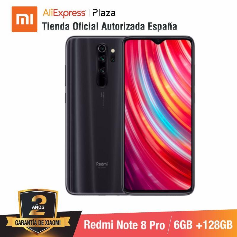 Redmi nota 8 pro (128 gb rom com 6 gb de ram, cámara de 64 mp, android, novo, móvil) [teléfono móvil versión global para españa]