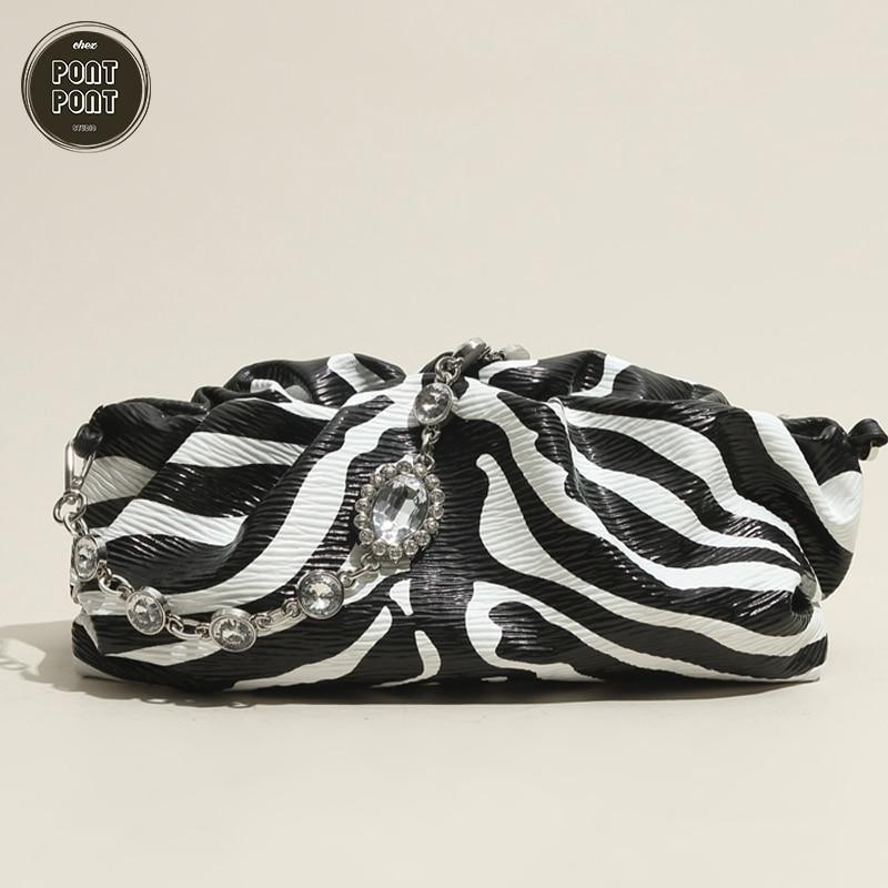Genuine Real Leather 2021 Ladies Hobo Baguette Handbag Shoulder Bag For Women Luxury Designer Female Fashion sac a main femme bo