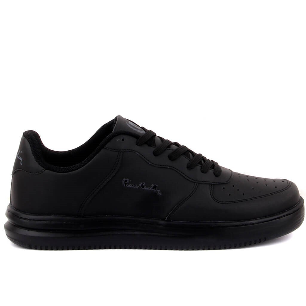 Pierre cardin-sapatos casuais masculinos pretos