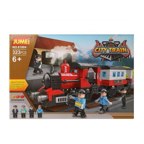 Juego de Construcción + Figuras City Train 119832 (323 pcs)