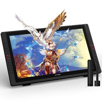 XP-Pen Artist 22R Pro Graphics Tablet Monitor 21.5inch Drawing Tablet Screen 60 Tilt 20 Shortcut Keys 2 Wheels 120%sRGB