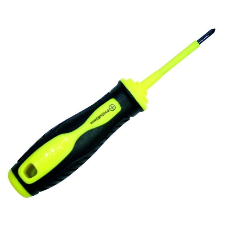 Изолированная Отвертка PH2X100 B/PHILL BIMATERIAL ручка