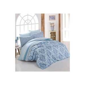 Crystal By Crown 100% Cotton Bedding Set, Home Textile Bedding Set, Bedspread, Duvet Cover Flat Sheet Pillow Case Turkey Nazen