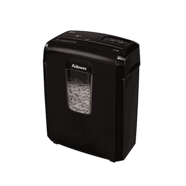 Trituradora de Papel Micro Corte Fellowes 8Cd 14 L 4 x 35 mm Negro
