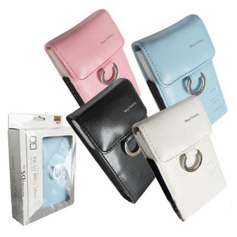 NDS Lite leather ring bag-Smart Case DS Lite (navy blue)